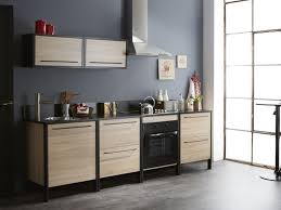 cuisine hotte aspirante design interieur cuisine moderne bois chêne hotte aspirante