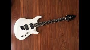 fanned fret 6 string bass unbiased gear review haze 6 wht fanned fret 6 string guitar