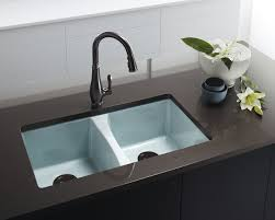 kitchen sinks contemporary deep cast iron sink undermount