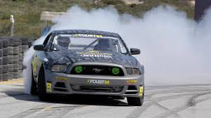 drift cars photos riding with tanner foust in a drift car