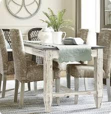 faux zinc dining table