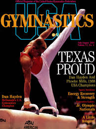 usa gymnastics july august 1988 by usa gymnastics issuu