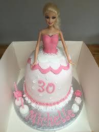 barbie doll cake 30th birthday cake girls cakes
