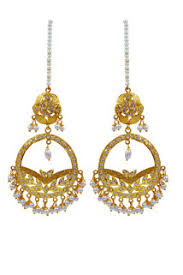karigari earrings fashion personified with karigari fashion imitation artificial