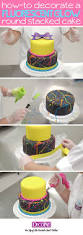 How To Make Sweet Decorations Best 25 Neon Cakes Ideas On Pinterest Neon Birthday Cakes Neon