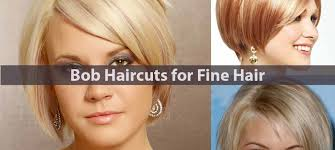 haircuts for fine hair with layers amazing bob haircuts for fine hair hairstyle for women