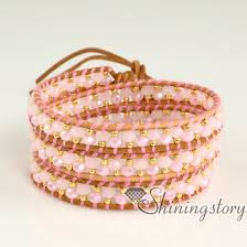 wholesale beaded necklace images Wrap bracelets wholesale leather wristbands wrap around beaded jpg
