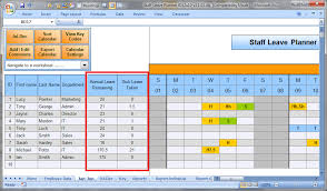 Workforce Planning Template Excel Free Anual Leave Planner Template Manage Staff Leave With This Excel