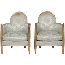 Art Deco Armchair Original French Art Deco Club Chairs By Paul Follot France 1930s
