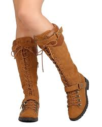 lace up moto boots new women mark maddux travis 22 leatherette knee high lace up