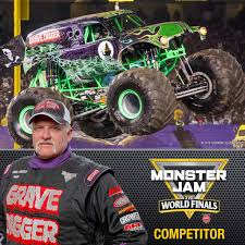 grave digger monster trucks monster jam world finals xvii competitors announced monster jam