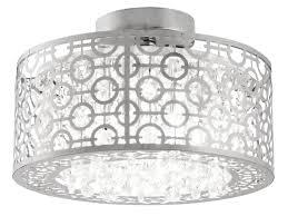chrome flush mount light flush mount crystal light pixball com