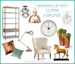 Copper Home Decor Brass Bronze And Gold Trend In Home Interior Design Decorating