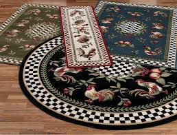 round rooster kitchen rugs rooster kitchen rugs in red cement image of design rooster kitchen rugs
