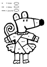 coloriage magique ms à colorier dessin à imprimer matematika