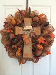 55 awesome wreaths to adorn your front door fall deco mesh