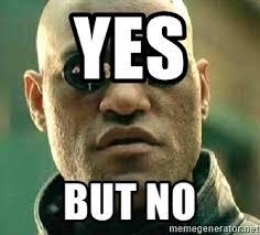Morpheus Cat Meme - yes but no what if i told you matrix morpheus meme generator