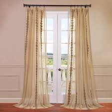 Embroidered Sheer Curtains Exclusive Fabrics Furnishing Cleopatra Embroidered Sheer Curtain