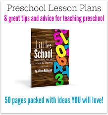 lesson plans for preschool ebook no time for flash cards
