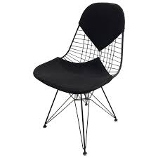 all original early production eames dkr wire chair with