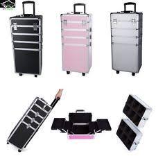 Vanity Box Makeup Artistry Professional Makeup Artist Cosmetic Vanity Trolley Case Storage