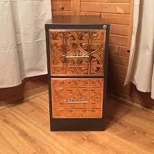 Wood Vertical File Cabinet by Copper U0026 Iron Custom 2 Drawer Vertical File Cabinet Chic