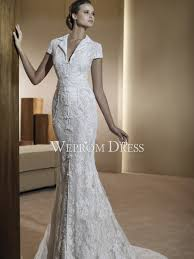 v neck lace wedding dresses wepromdresses net