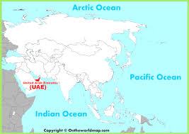 United Arab Emirates Map United Arab Emirates Maps Beauteous Map Of Uae And Iran