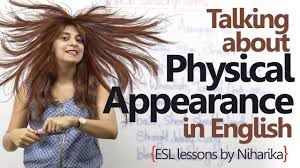 hair style esl speaking about physical appearance in english spoken english
