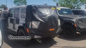 jeep prototype truck 2019 jeep wrangler diesel prototype reappears great undercarriage