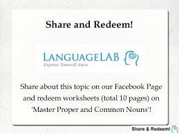 languagelab 3 1 master proper u0026 common nouns