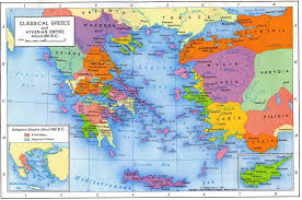 Sparta Greece Map by Ancient Greece Compared To Modern Day Canada Introduction