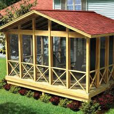 screened in porch plans to build or modify screen porch kits