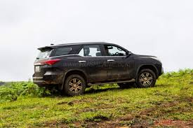 toyota fortuner toyota fortuner passengers survive after getting sandwiched