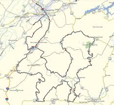 Johnson City Tennessee Map by Maps Don Moe U0027s Travel Website