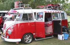 volkswagen old red very cute camper i love the white and red rvs for sale by owner