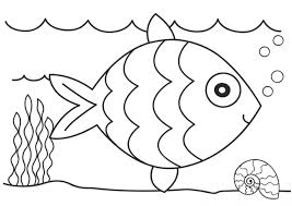 coloring dazzling fish coloring image pages fish