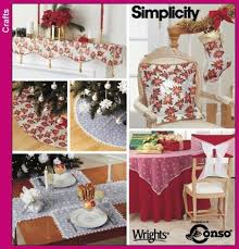 sewing patterns home decor christmas customs xmas ideas home simplicity pattern