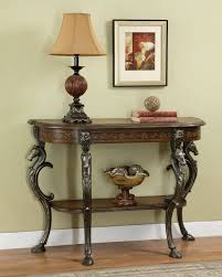 Entrance Console Table Furniture Powell Furniture Masterpiece Demilune Sofa Console Foyer