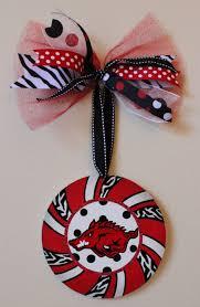 razorback ornament by mckinley razorbacks