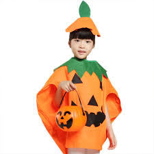 unisex kids orange pumpkin shirt clothing with hat halloween sales
