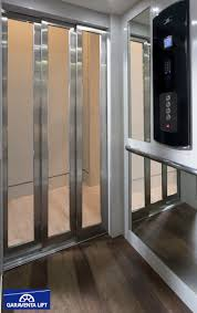 Champion Sliding Glass Doors by 2016 Garaventa Home Elevator Cab Glass Elevator Cab Featuring