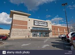 bed bath and beyond fairfax bed bath beyond building exterior with beautiful blue sky stock