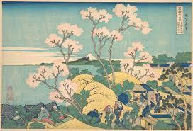 Met Museum Map Katsushika Hokusai Fuji From Gotenyama On The Tôkaidô At