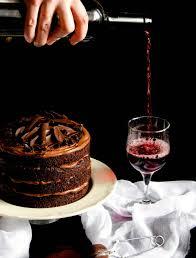 wine chocolate wine chocolate cake tort cu ciocolata si vin rosu