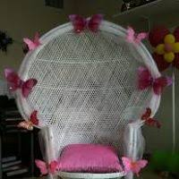 bridal shower chair bridal shower chair decorations decor ideas