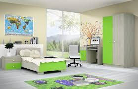 chambre enfant verte chambre chambre enfant moderne chambre garcon ou fille teinte bois