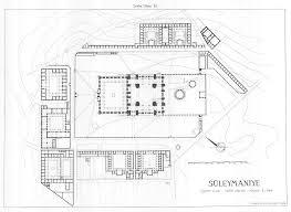 layout plani nedir süleymaniye külliyesi vaziyet planı karakter 1 pinterest mosque