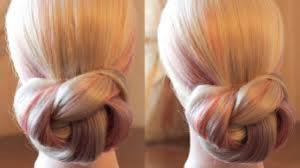 easy and simple bun hairstyle video dailymotion