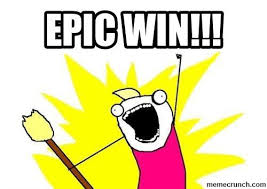 Epic Win Meme - win